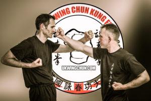 Cambridge Wing Chun shows interception punch