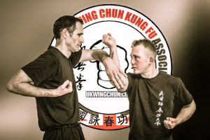 Cambridge Wing Chun student single chi sau
