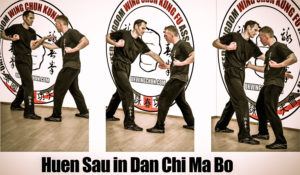 Cambridge Wing Chun student single chi sau